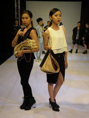 樹德科大流行設計系「實衣著行」時尚秀驚艷登場。技職博覽會/攝影