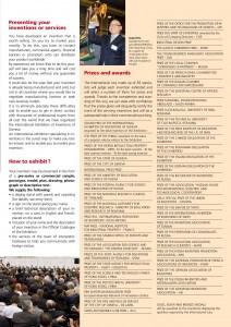 日內瓦發明展獎項,圖片來源: http://www.inventions-geneva.ch/pdf/2013/EN2013-INFO.pdf