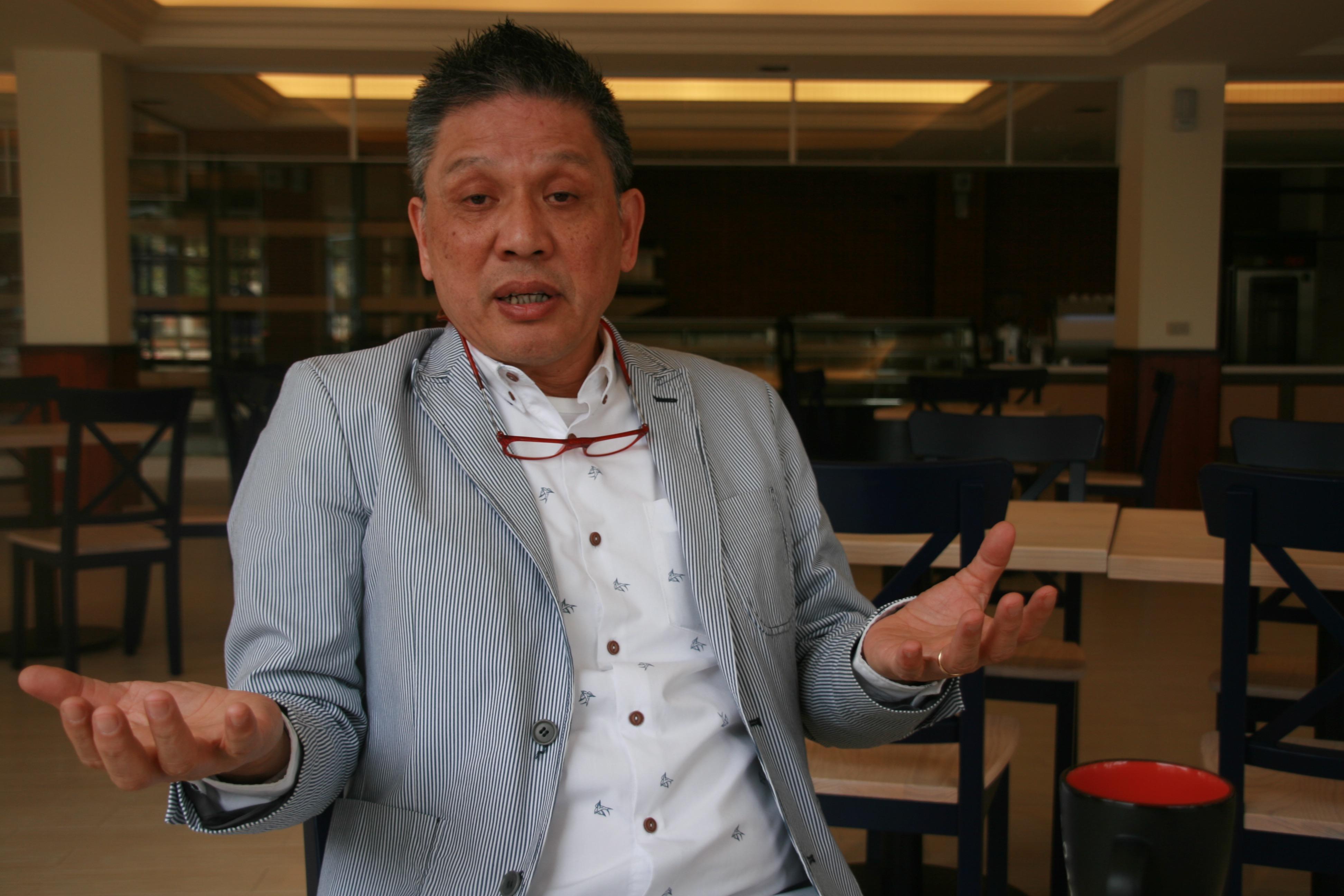 高餐藍帶廚藝卓越中心總經理蘇國垚請辭一案,居然是跟藍帶總公司請辭而非高餐大校方。(圖/黃偉翔攝影)