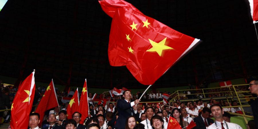正式申辦2021主辦國 中國:辦場無與倫比的國際賽