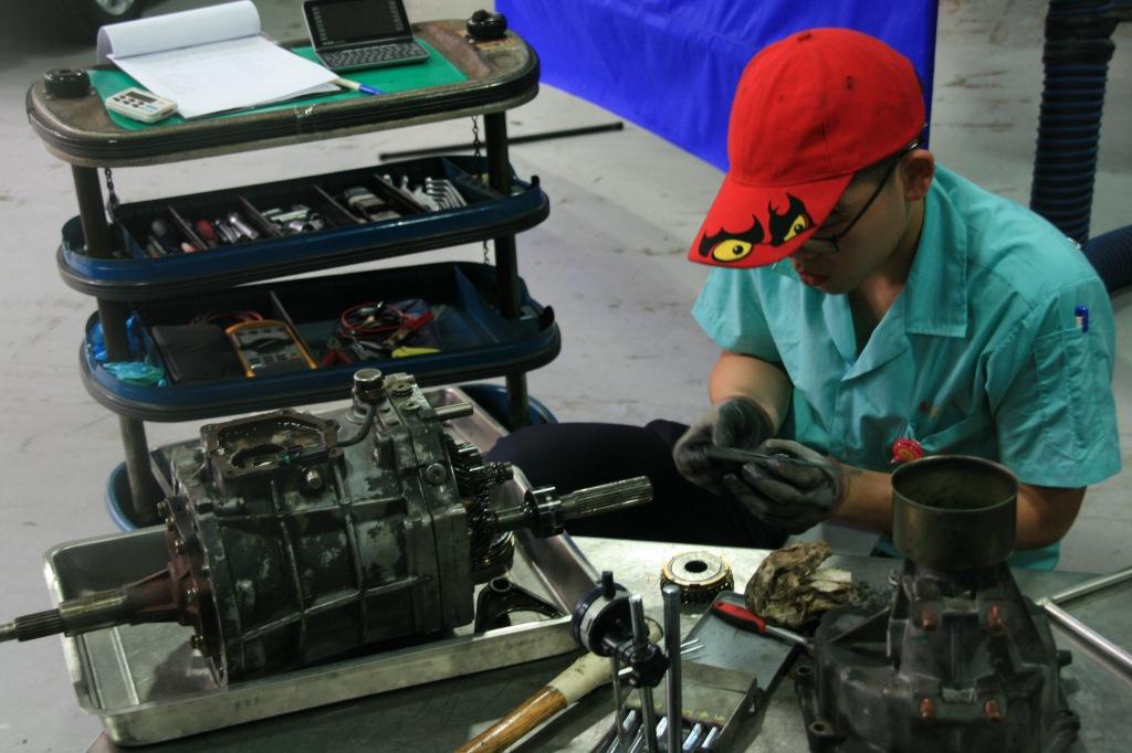 實習 汽車技術 技職 技能競賽分區賽