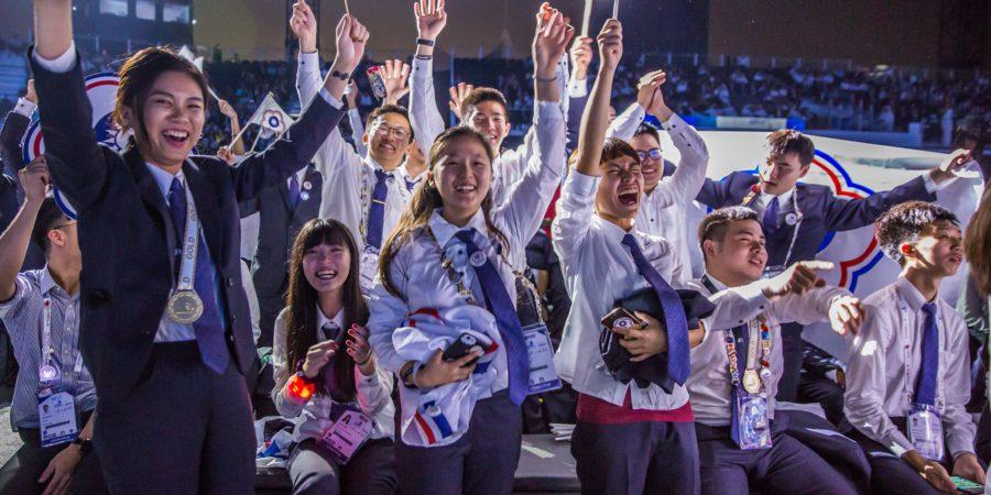 四位金牌國手獲選教育部技職之光