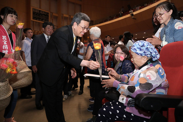 小英不來了 改副總統陳建仁為金牌選手頒獎