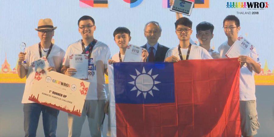 台灣奪下奧林匹亞機器人大賽多項獎 教練:在國際場合拿國旗很感動