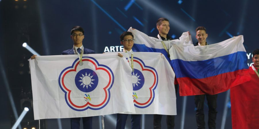 (新聞稿)青少年國際技能競賽 台灣4銀1銅奪牌率83%