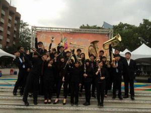 嘉藥管樂社首次參加全國學生音樂比賽表現亮眼