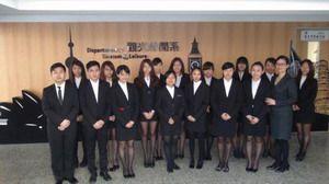 龍華科技大學實習旅行社開張!