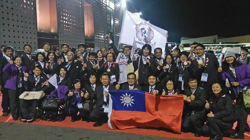 國際身障技能競賽 台灣奪10金4銀2銅1特別獎
