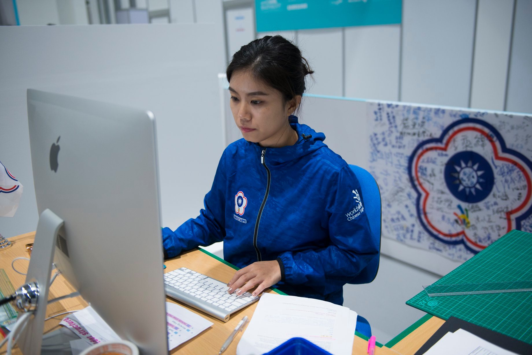 楊瑾瑜/另類技能界奧運台灣之光:賽事設備