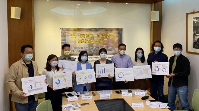 4成4青少年勞工受疫情影響 葉大華:紓困應照顧無勞保青少年