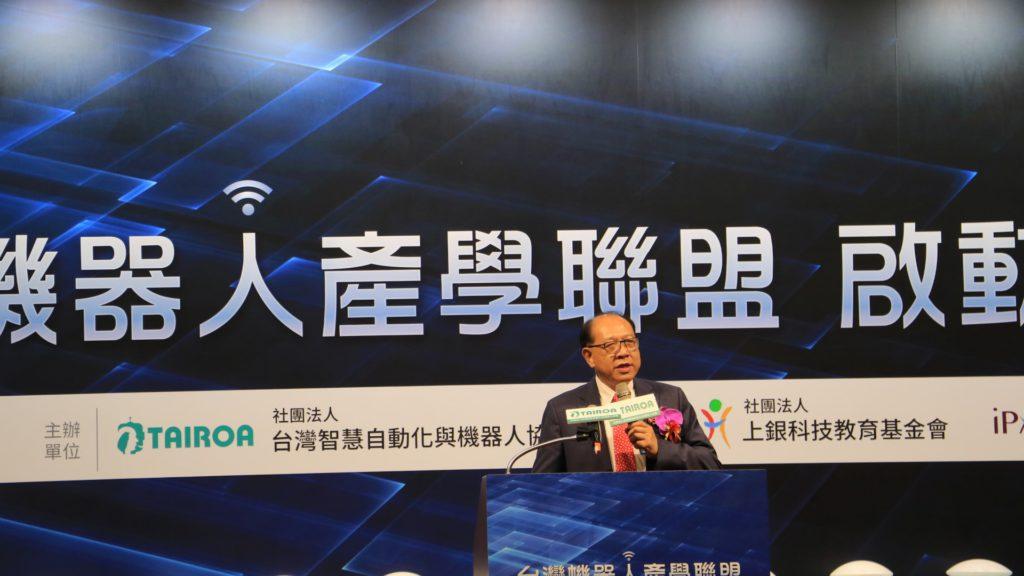 推動機器人產學聯盟 卓永財:台灣老闆須回饋學校