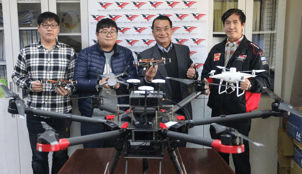 弘光科大投資校友無人機公司 10%獲利回饋校務基金
