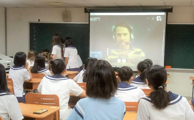 鼓勵開口說外語  李偉綾創新教育激發學生與國際接軌