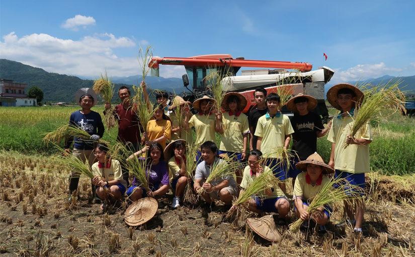 簡瑛欣推廣食農教育 農青社從耕作關懷土地